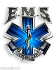 "EMS ON CALL FOR LIFE VINYL DECAL 2"" 4"" 6"" 12"" INCH EMT PARAMEDIC MEDIC RESCUE"
