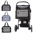 New Baby Nappy Changing Bags Set Diaper Bag 3Pcs - 4 Colors