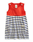 *BNWT* Little Joules Jnr Katy Pinafore Style Dress - Red - NEW FOR SS14