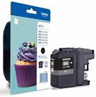 LC123 Black Original Brother Printer Ink Cartridge LC-123 Cupcake Series