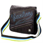 Mens Messenger Bags NY New York Yankees Pouch Black Cross Body Bag Man Bag BLACK