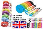 3M Flat noodle MICRO USB charger cable for Samsung Galaxy S3 S4 HTC Nokia Sony