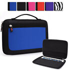 Kroo Unisex Semi Hard Travel Bag Case Cargo Organizer Guard fits 10.1 Tablets
