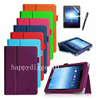 For E FUN Nextbook Premium 8HD SE NX008HD8G Tablet Case Stand Cover +Film&Stylus