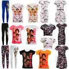 Girls Unofficial One Direction 1D Midi Skater Dress Crop Tops Leggings T-shirts