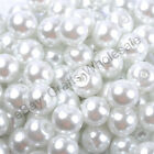 Top Quality Czech Glass Pearl Round Beads Choose - 4MM  6MM  8MM & 10MM