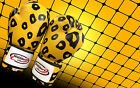 WOLDORF USA Sparring boxing cheetah gloves top grade genuine cowhide leather