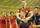 Belgium World Cup 2014 Giant 1 Piece  Wall Art Poster WC104