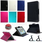 Universal PU Leather Folio Flip Case Cover For 9.7 10 10.1 10.5 Inch Tablets PC