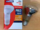 40w 60w R63 Spotlight Reflector Light Bulb Lamp ES Screw In E27 4 or 10 Pack