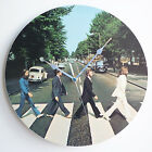 "The Beatles Collection 12"" Vinyl Record Clocks, Lennon, Abbey Road, Sgt Peppers"