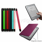 "For Kindle 5 & 4 6"" E Ink Display Slim Lightweight Leather Case w Magnetic Cover"