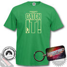 Saturday Night Fever T-Shirt and Keyring Giftset - Catch It! 80's 90's Fun Gift