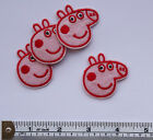 PEPPA PIG Embroided Iron on/sew on patches, badgees 40 x 40mm