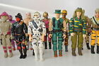 1988 Gi joe action force figures Road Pig Toxo viper Nullifier Tiger Flint Dusty