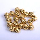 40-100pcs Tibetan Silver  Gold  Bronze  Charms Spacer Beads 4MM & 6MM  8MM CA117