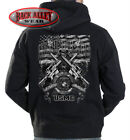 MARINES - First In, Last Out Hooded Sweat Shirt Hoodie ~ USMC Corps M16 Rifle