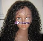 "14""-20"" Amanda Curly Brazilian_Kink Full Lace Wig/ Lace Front Wig 100%Human Hair"