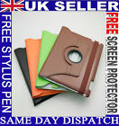 NEW STYLE 360 ROTATING LEATHER CASE & SMART COVER STAND FITS APPLE NEW IPAD 2 3