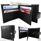 NEW MENS SOFT HIGH QUALITY REAL GENUINE LEATHER LUXURY WALLET PURSE CARD HOLDER