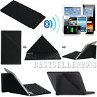 UltraThin Bluetooth Keyboard W / Black Case For 9~10.1 Android Windows Tablet PC