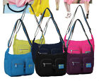 Fashion Women Nylon Casual Sport Shoulder Messenger Bags Crossbody Satchel Purse