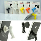Mini Man Suction Mount Holder Supporter Iphone Mobile Phone Random Color Hot