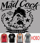 Mad Cock Funny T-Shirt Singlet Slogan  Men's Women's Ladies New Hobo Hoodies top