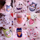 Fashion Pet Puppy Dog Cat Coat Clothes Costumes 3 Size 7 Style