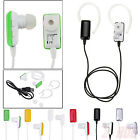 Wireless Bluetooth Stereo Earbud Headset Mic Headphones f Android iPhone Samsung