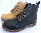 WOMENS LADIES LACE UP GOOD GRIP FLAT ANKLE DESERT COMBAT BOOT SIZE 3 - 8