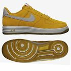 Nike Air Lunar Force 1 Reflect 616774 700 Gold Suede/Reflect Silver Men's Shoes