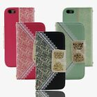 Luxury Fashion Leather Hot Credit Card Wallet Case Cover For Apple iPhone 5c HG