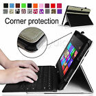 Slim Corner Protection Leather Case Cover for Microsoft Surface Pro/Pro 2 10.6""
