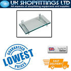 Pack of 4 Glass Shelves 590mm width Various Lengths