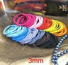 3mm Snagless Hair Ties/ Hair Band / Elastic Hair Tie / Ponytailer