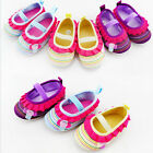 Baby Girl Kid Inant Prewalker Anti-slip Toddler Soft Sole Crib Mary Jane Shoes