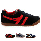 Mens Gola Harrier Classic Low Cut Suede Casual Sporty Lace Up Trainers All Sizes