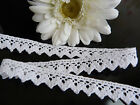 1M Beautiful Vintage Style Crochet Lace Ribbon, MORE COLOURS, 100% Cotton Trim
