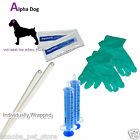 Standard Dog Artificial Insemination Kit / Canine AI Rods / Tubes - 2 Breedings