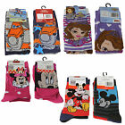 Official Licensed Disney - 2 Pairs Girls or Boys Socks - 4 designs - Size 12-2.5