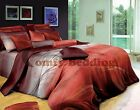 Sunset Luxury Cotton Bedding Set:1 Duvet Cover & 2 Pillow Shams Queen/King/Cal K