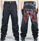 Fashion Loose Skateboard Casual Straight man Pants Hip Hop Men's Jeans S902