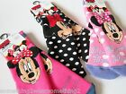 DISNEY MINNIE MOUSE OFFICIAL GIRLS SLIPPER SOCKS CHOICE OF DESIGN & SIZES