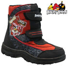 **BOYS ANGRY BIRDS WINTER SNOW MOON MUCKER WATERPROOF WELLINGTONS WELLIES BOOTS