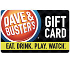Dave & Buster's© Gift Card - $25 $50 Or $100 - Email Delivery For Sale