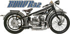 BMW R32 R 32 - Boxer Twin Shaft Drive Antique Vintage Motorcycle Bike T Shirt