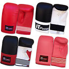 Rex Leather Boxing Mitts Training Punch Bag Gloves Sparring  Mitts ADULTS