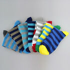 6 Pairs New Men Bright Color Energetic Sport Cotton Socks Anti-Sweating NWM070