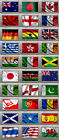 New. Quality Fridge Magnets - Flags Of The World - Country, Countries - u pick